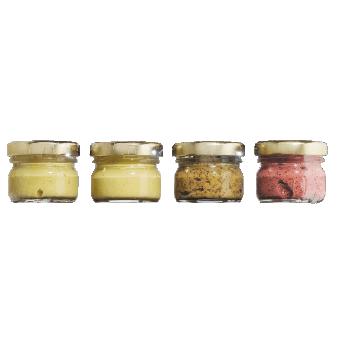 Dijon Senf, Moutarde de Dijon Probiersets