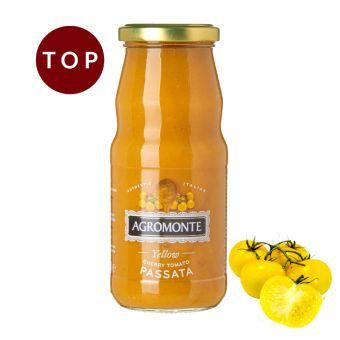 Passierte gelbe Cherry Tomaten 360g Flasche
