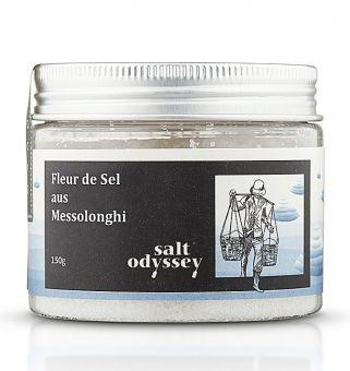 Ganz natürlich, unraffiniert, das reinste und schmackhafteste aller Meersalze. 150 gr. Dose