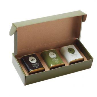 Geschenkbox Olivenöl 3 x 100ml