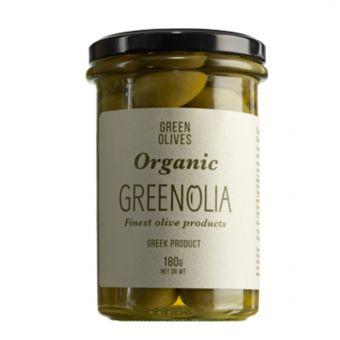 Green Oliven 180gr Glas