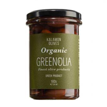 Kalamon Oliven 180gr Glas