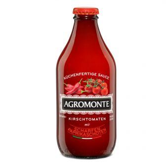 Salsa Pronta di ciliegino con peperoncino piccante 320 ml Flasche