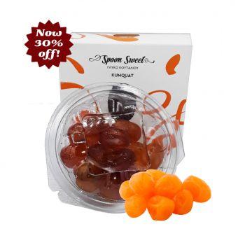 Kumquat kandiert 250gr. Box dekorativ verpackt.