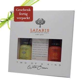 Lazaris Cream Likör Geschenk 2 x 100 ml