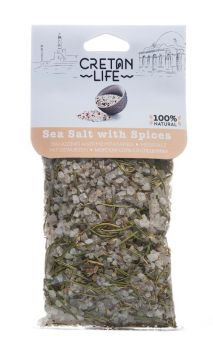 Mix aus Meersalz mit Gewürzen 150 g Beutel