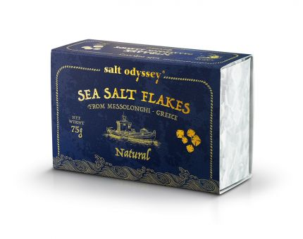 Sea SALT FLAKES 75 g. Schachtel